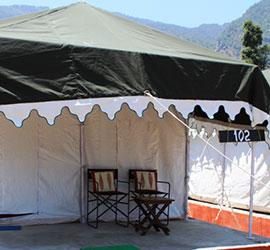 Swiss Tent on Rent
